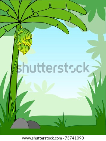 vector illustration of a cartoon background