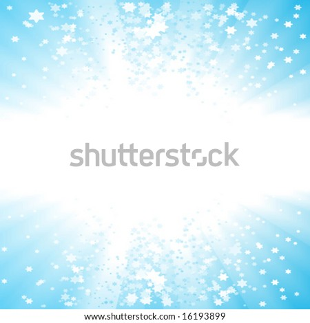 Vector illustration of a celebration party glowing background with a lot of copy space. - stock vector