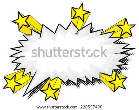 vector illustration of a comic sound effect aargh