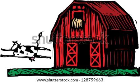 Red Barn Doors Clip Art open barn door stock images, royalty-free images & vectors