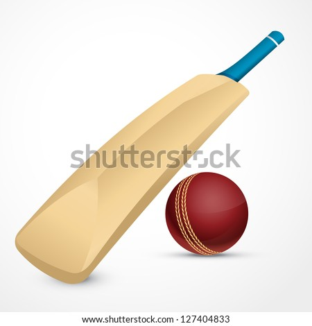 Cricket Bat And Ball Stock Images, Royalty-Free Images & Vectors ...