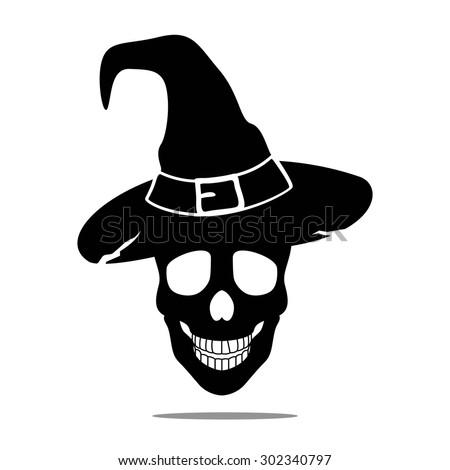 vector illustration of a halloween skull - Halloween Skull