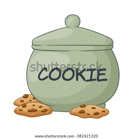 how to draw a cookie jar