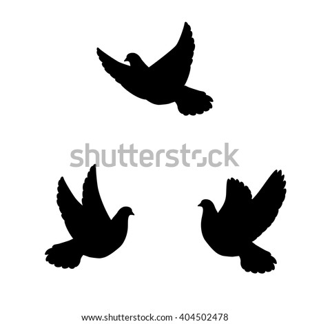 Birds Flying Silhouette