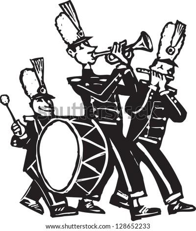 Marching Baritone Clipart