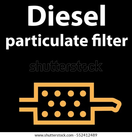 Vector Illustration Sign On Car Dashboard Stock Vector - Car sign on dashboard