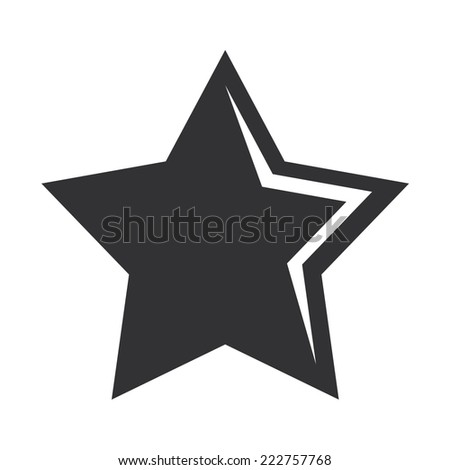Vector illustration of a web icons-favorites - stock vector