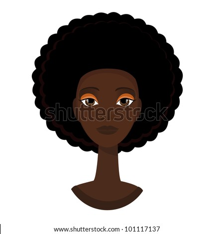 afro hair images