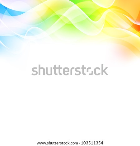 Vector illustration of an abstract background - stock vector