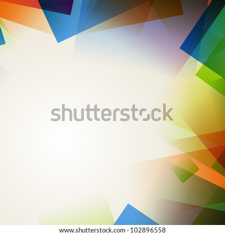 Vector illustration of an abstract colorful background - stock vector