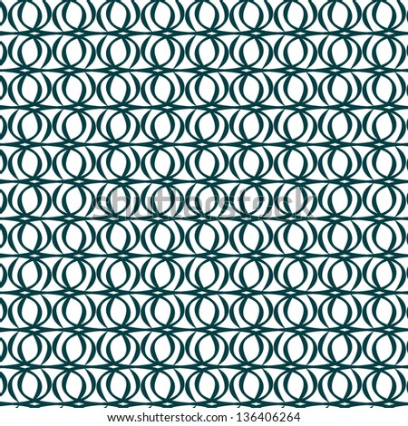 Vector illustration of an abstract geometrical seamless pattern. - stock vector