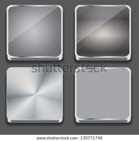 Vector illustration of apps icon - stock vector