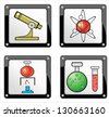 Vector illustration of apps icon set - stock vector