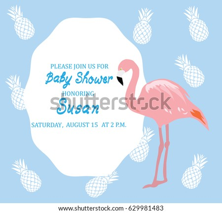 baby girl invitation stock images, royalty-free images & vectors, Baby shower invitations