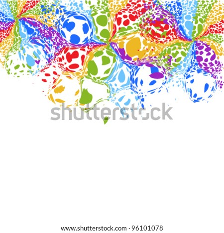 vector illustration of  background - stock vector