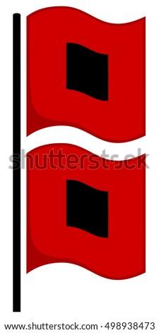 Hurricane Warning flags (U.S.)