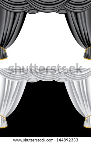 Curtains Ideas black theater curtains : Black Stage Curtain Stock Images, Royalty-Free Images & Vectors ...