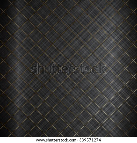 Vector illustration of Black background with texture - stock vector