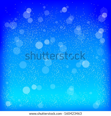 Vector illustration of blue  background