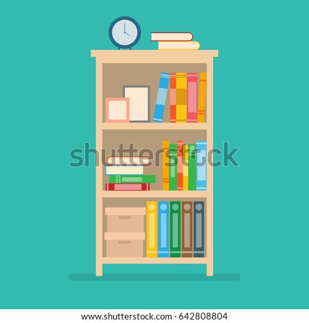 Bookshelf Stock Images Royalty Free Images Vectors Shutterstock