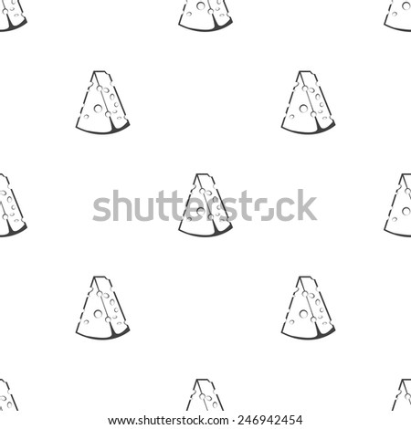 vector illustration of business and finance icon cheese - stock vector