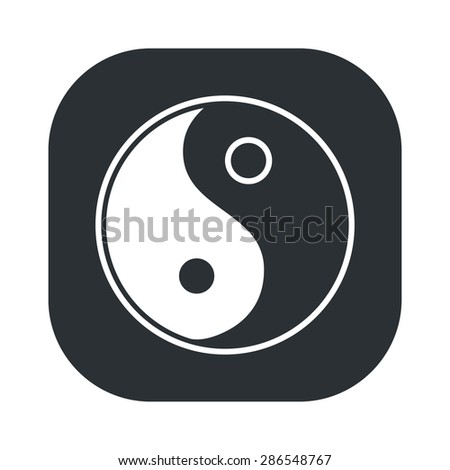 vector illustration of business and finance icon yin yang