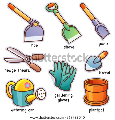Sarawut padungkwan 39 s portfolio on shutterstock for Gardening tools vocabulary