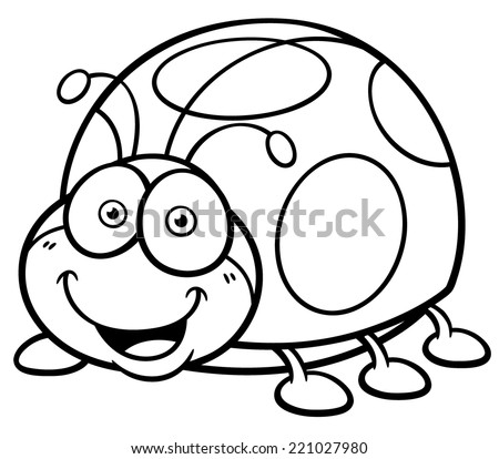 ladybug and aphid coloring pages - photo#23