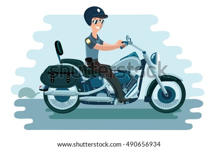 Motorcycle Police Officer Stock Images Royalty Free