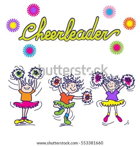 Cheerleader Pom Pom Stock Vectors, Images & Vector Art | Shutterstock
