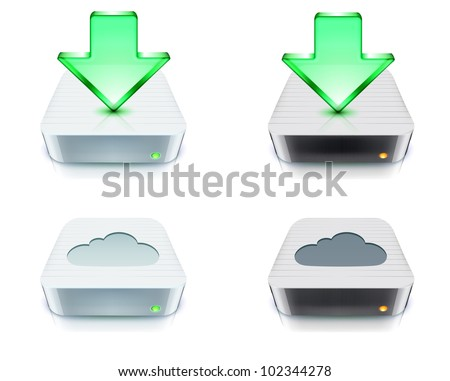 how to download photos in icloud to external harddrive