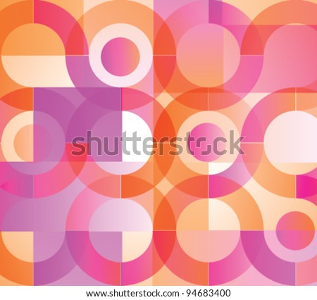 Vector illustration of colorful background - stock vector