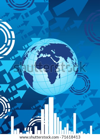 vector illustration of corporate background - stock vector