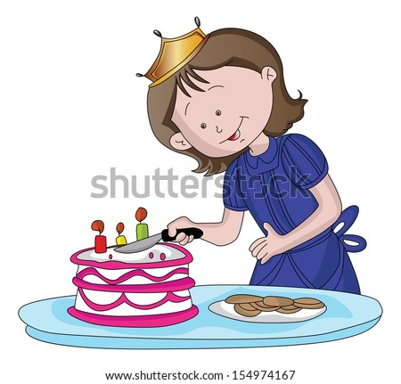 Cartoon Cake Stock Images RoyaltyFree Images Vectors