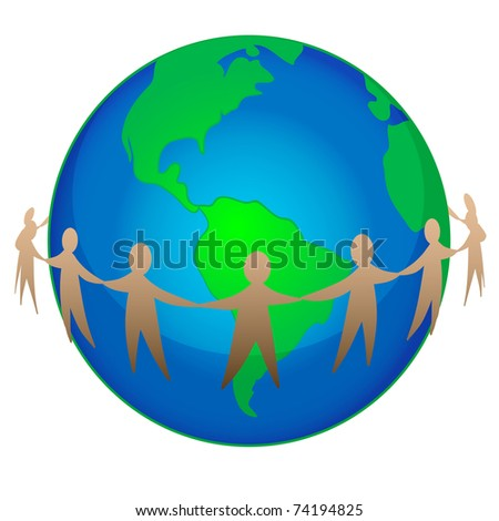 vector illustration of earth day concept