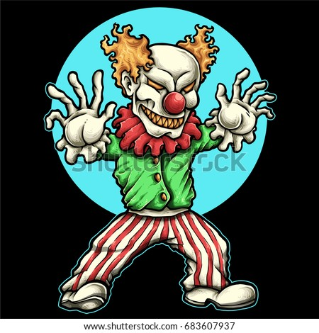 Angry Clown Stock Images, Royalty-Free Images & Vectors ...