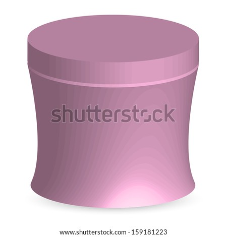 Vector illustration of Face cream 1