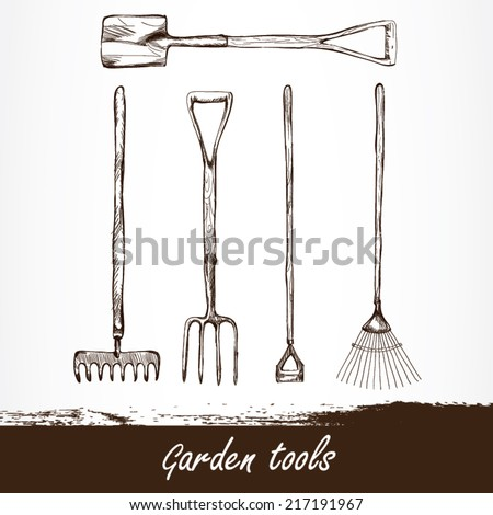 Farm Tools Stock Images Royalty Free Images Vectors Shutterstock