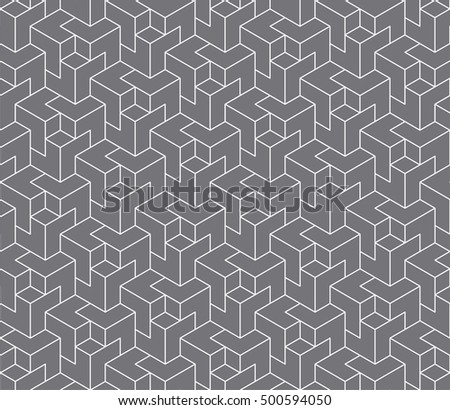 Vector illustration of geometric pattern background