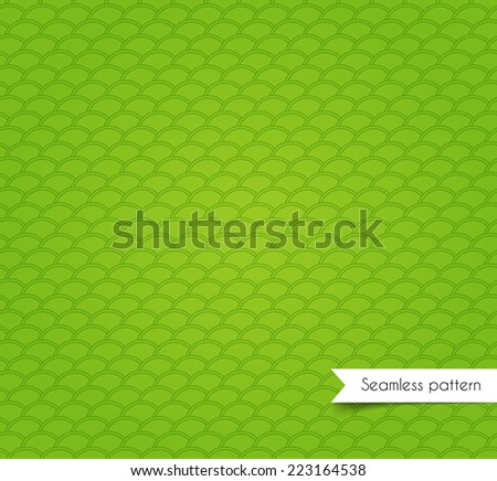Vector illustration of geometric seamless pattern - stock vector