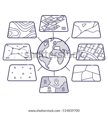 Geographic Information Systems Stock fotos, billeder til fri ...