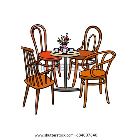 Cafe Tables Stock Images RoyaltyFree Images Vectors Shutterstock