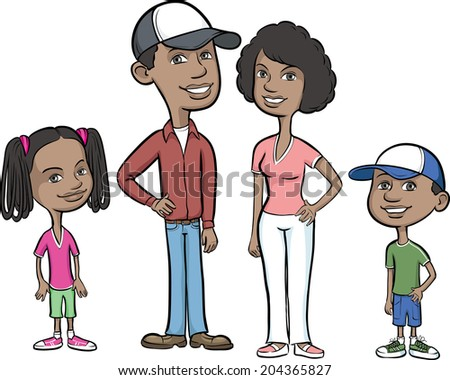 African American Child Stock Vectors, Images & Vector Art ...