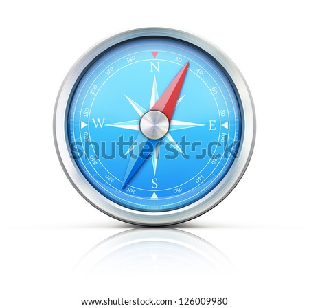 Compass isolated Stock Photos, Images, & Pictures ...