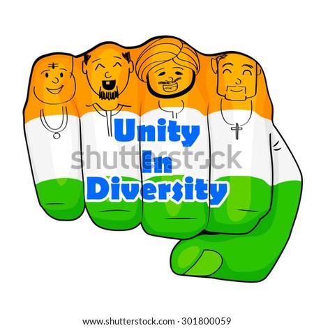 vector illustration indian people different culture stock vector rh shutterstock com Diversity Hands Clip Art No School Clip Art