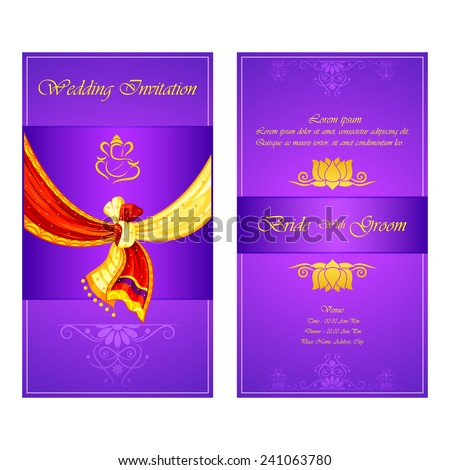Indian Wedding Invitation Stock Images, Royalty-Free Images ...