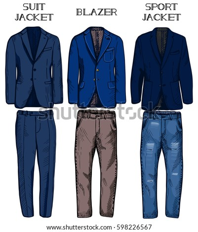 Blazer With Jeans For Men Stock Images, Royalty-Free Images ...