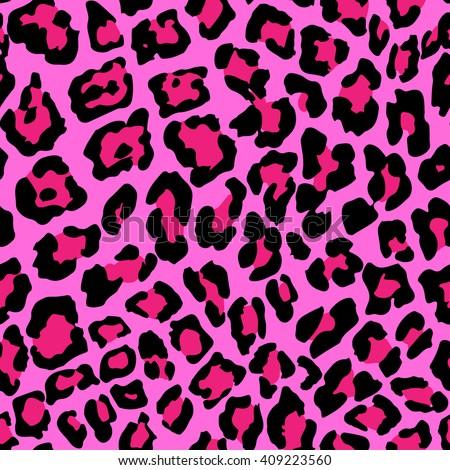 Vector Illustration of Leopard Print Seamless Pattern. Leopard Print Wild texture for Design, Website, Background, Banner. Leopard Print  Jaguar Template. Leopard Print  Nature Wallpaper - stock vector