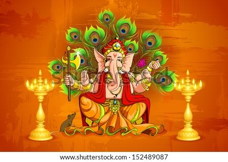 Ganesha Wallpaper Stock Images RoyaltyFree Images Vectors