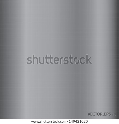 vector illustration of metal texture background - stock vector